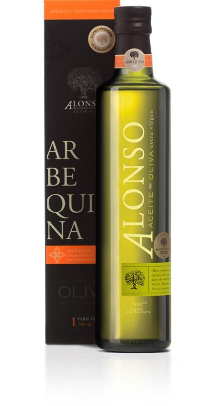 Azeite De Oliva Extra Virgem Alonso Arbequina 500ml