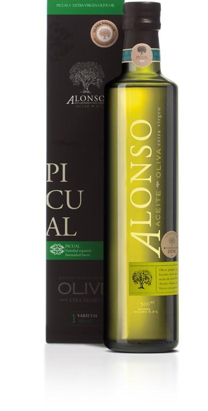 Azeite De Oliva Extra Virgem Alonso Picual 500ml