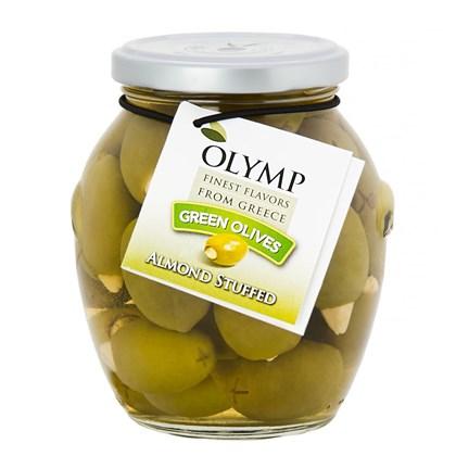 Olymp Azeitonas Verdes com Amêndoas 200g