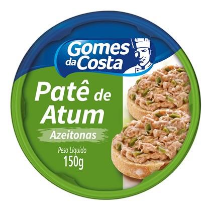 Patê de Atum com Azeitona Gomes da Costa 150g