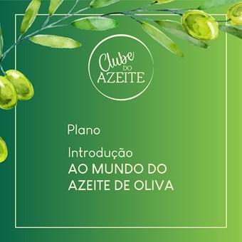 Plano Introdução Ao Mundo Do Azeite De Oliva