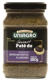 UNIAGRO PATE DE AZEITONA PRETA 180G